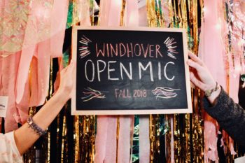 Windhover Open Mic Fall 2018